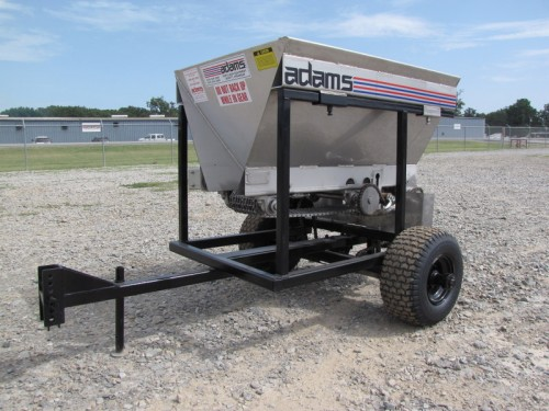 ATV / SMALL TRACTOR FERTILIZER LIME SPREADER Image
