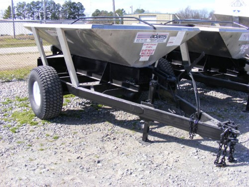 Adams 2 Ton Turf Spreader Image