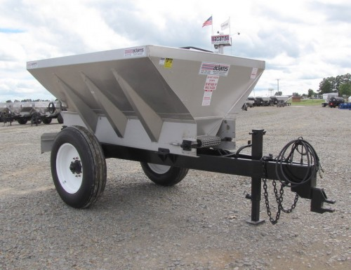 2 WHEEL MED HIGH CLEAR LIME / FERTILIZER SPREADER Image