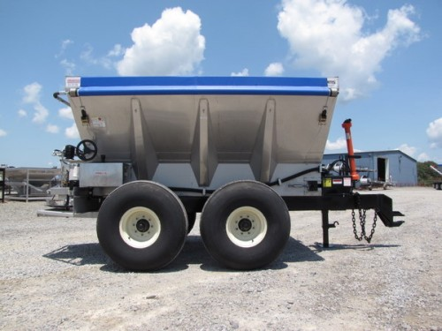 PTO Driven Hydraulic Fertilizer/Lime Spreader Image