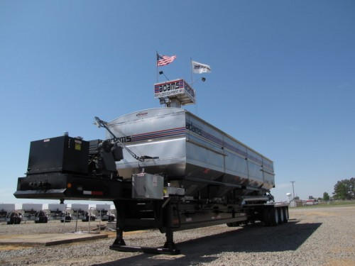 4 HOPPER SIDE DISCHARGE TRAILER TENDER Image