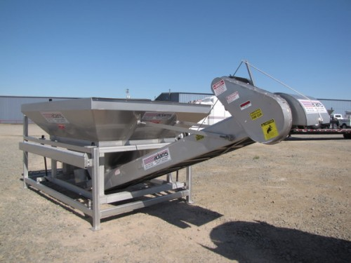 10-TON 304 STAINLESS STEEL ADAMS WEIGH HOPPER Image