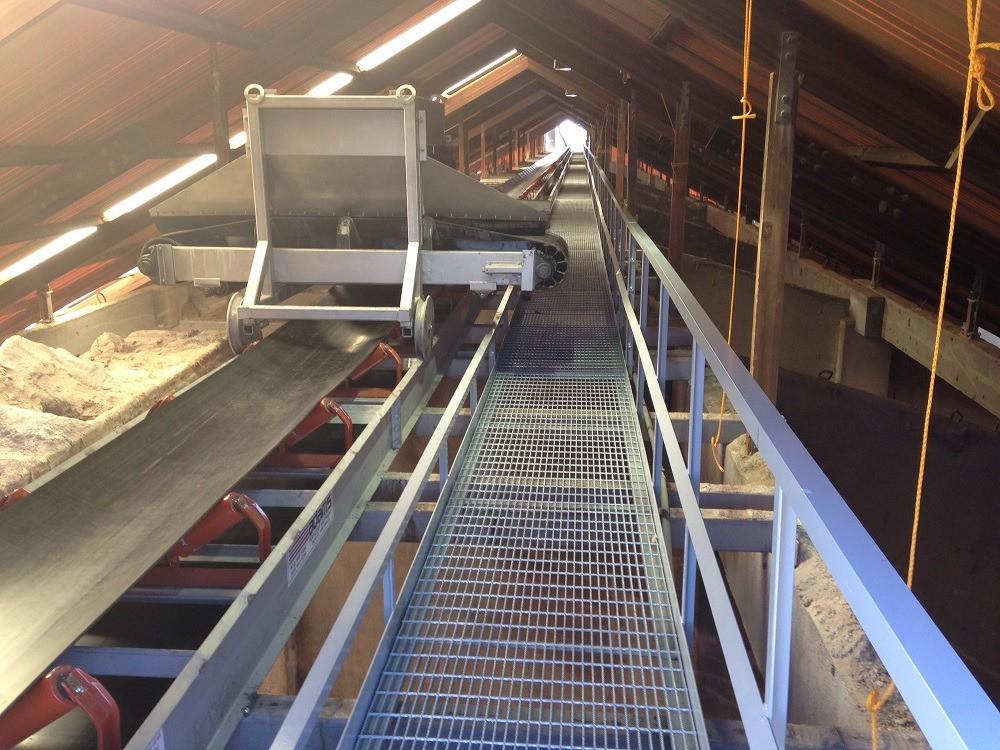 Belt Conveyors: Products - Adam's Fertilizer Live